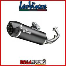 14026 POT LIGNE FULL LEOVINCE YAMAHA XMAX 250 2011- LV ONE EVO INOX DARK/CARBON