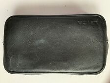 Leica leather black soft case For D-Lux Or  binoculars, zipper closure, used
