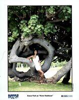 Grace Park 20x25cm u.a. Hawaii Five-O signed original signiert TOP NEU G 2 UH