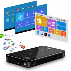 Free Freight Mini Smart Android Projector HDMI USB TF Wifi HD 4K Home Cinema AU