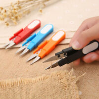 Plastic Handle Cover Sewing Scissors Thread Embroidery Cross-stitch Cutter!