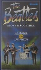 THE BEATLES - ALONE & TOGETHER - U.S. ARRIVAL 25th ANNIVERSARY - VHS