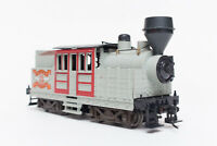 WORKING HO ROUNDHOUSE 2 TRUCK CLIMAX MDC LOGGING LOCO WHITE PASS & YUKON LUMBER