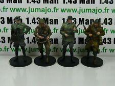 Lot SOLDAT ALTAYA 1/15 : WWII Officier, Parachutiste, Sapeur, Fantassin