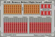 EDUARD 1/48 AIRCRAFT- REMOVE BEFORE FLIGHT ISRAEL (PAINTED) | 49546