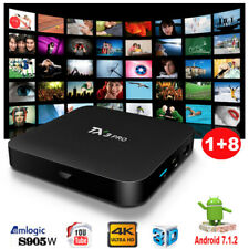 2018 TX3PRO Quad Core Android 7.1.2 Nougat TV BOX 4K Media Player MINIPC 1+8G AU