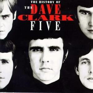 DAVE CLARK FIVE - HISTORY OF DAVE CLARK FIVE 2CD in Jewel Case DC5 32 pg booklet