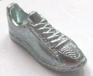light pewter sneaker Monopoly Stranger Things Edition token mini replacement