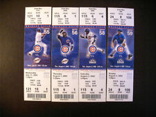 Chicago Cubs Baseball Vintage Ticket Stubs
