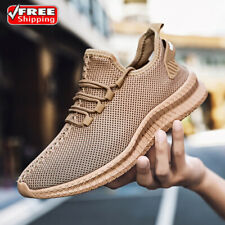 Men's Sneakers Casual Walking Light Tennis Breathable Running Non-slip Shoes Gym