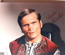 Star Trek Autograph Charles Dierkop/Morla 8 x 10 Color Photo- Free S&H(Lhau-644)