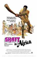 Shaft In Africa Poster 01 Metal Sign A4 12x8 Aluminium
