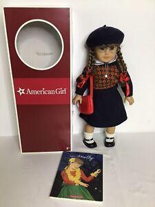 American Girl Doll Molly McIntire 2008 w/box Book EUC!