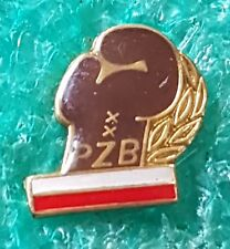 POLISH BOXING FEDERATION OLD PIN BADGE / 6