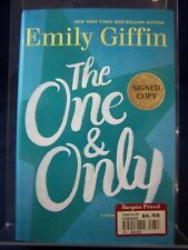 The One & Only: a novel by Emily Giffin (2014) 1st edition HB 180616