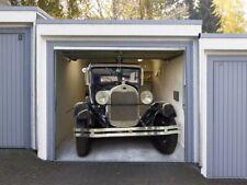 Oldtimer dans le garage-DECO-Effet-Image Pour Portes