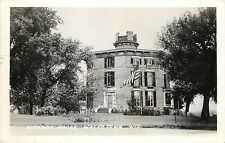 c1940 Real Photo Postcard; Octagon House, Watertown Wi Jefferson County Posted