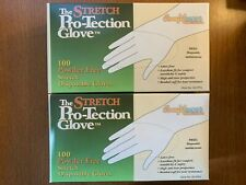 GLOVES VINYL STRETCH POWDER FREE 100/CT SMALL DISPOSABLE **LOT OF 2** LATEX-FREE