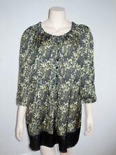Bluse Longbluse Longshirt Tunika My Line Kleid Satin Gr. 46-50  XL XXL NEU