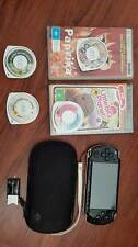 SONY PSP 3000 - black, comes with 3 games and a movie