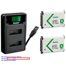 Kastar Battery LZD2 Charger for Sony NP-BX1 BC-CSX & Sony Cyber-shot DSC-RX1R
