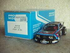 BMW 3.5 CSL LE MANS 1976 - PROVENCE MOULAGE au 1/43ème