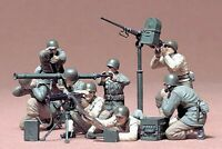 35086 Tamiya U.S. Gun And Mortar Team 1/35th Plastic Kit 1/35 Military