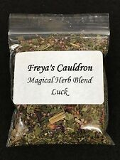 Magical Herb Blend ~ Good Luck ~ Spell Craft, Charm Bags, Ritual,  Oils ~  Wicca