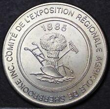 Sherbrooke Quebec Canada 100th Anniversary Trade Token Dollar 1985~UNC~Free Ship