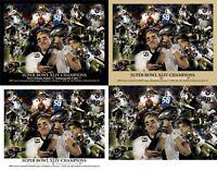 New Orleans Saints Super Bowl Champions Drew Brees Art CHOICES 8x10-48x36