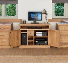 Baumhaus Mobel Solid Oak Hidden Home Office COR06A