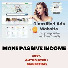 Classified Ads Listing Portal £25,000+ A YEAR WEBSITE BUSINESS + FREE MARKETING
