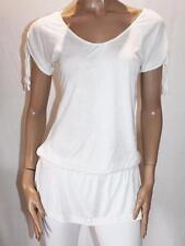 CROSSROADS Brand White Short Sleeve Drop Waist Top Size XS BNWT #SG13