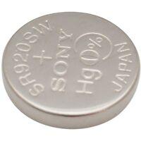 Sony #371 SR920SW 1.55V Silver Oxide Watch Battery