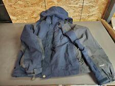 The North Face HyVent 2 in 1 Winter Jacket Coat Dark blue. Medium.