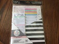 The Happy Planner Habit Tracking Planner Inserts, Disc bound Inserts