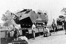 """WW1 - Guerre 14/18 - Chars """"Saint-Chamond"""" pour l'offensive de juillet 1918"""