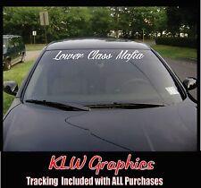 Vinyl Decal Banner Crew Cab Diesel Truck Silverado1500 2500 Bowtie Mafia
