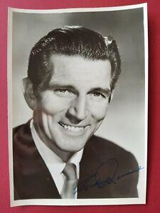 Michael Rennie Autogrammkarte Original Unterschrift