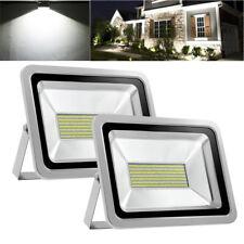 2X 150W Led Flood Light Cool White Outdoor Lighting Garden Lamp Spotlight Ac110V