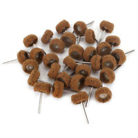 """1"""" Abrasive Wheel Buffing Polishing Wheel Thickened For Rotary Tool 50Pcs Grit80"""