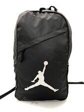 f13a24910f0 NWT New Nike Air Jordan 9A1910-023 Crossover Backpack School Bag Black  Silver 40