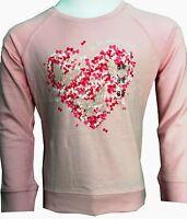 Kids T Shirts Girls Pink rosy tops High quality Sweatshirt Age 2-14 Years BNWT