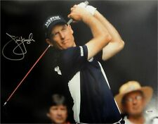 Jim Furyk Hand Signed Autographed 16x20 Photo Big Swing Follow Through PSA/DNA