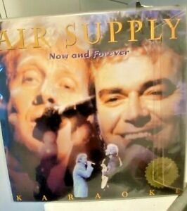 AIR SUPPLY - NOW AND FOREVER - KARAOKE LASER DISC