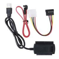 SATA/PATA/IDE Drive to USB 2.0 Adapter Converter Cable for 2.5/3.5 Hard Drive ZH
