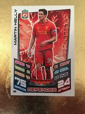 Match Attax Season 12/13 Liverpool-Martin Kelly #96