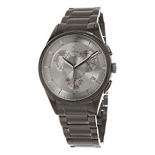 Calvin Klein Men's Basic Grey Stainless Steel Swiss Quartz Date Watch K2A27926
