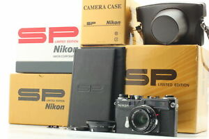 [Unused IN BOX]  Nikon SP Black Limited Edition W-Nikkor C 38mm F/1.8 From JAPAN