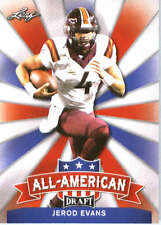 2017 Leaf Draft Football All-American #AA-12 Jerod Evans